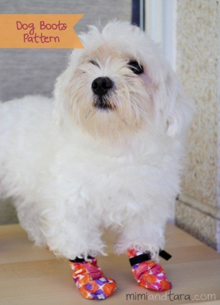 Dog Boots FREE Sewing Tutorial