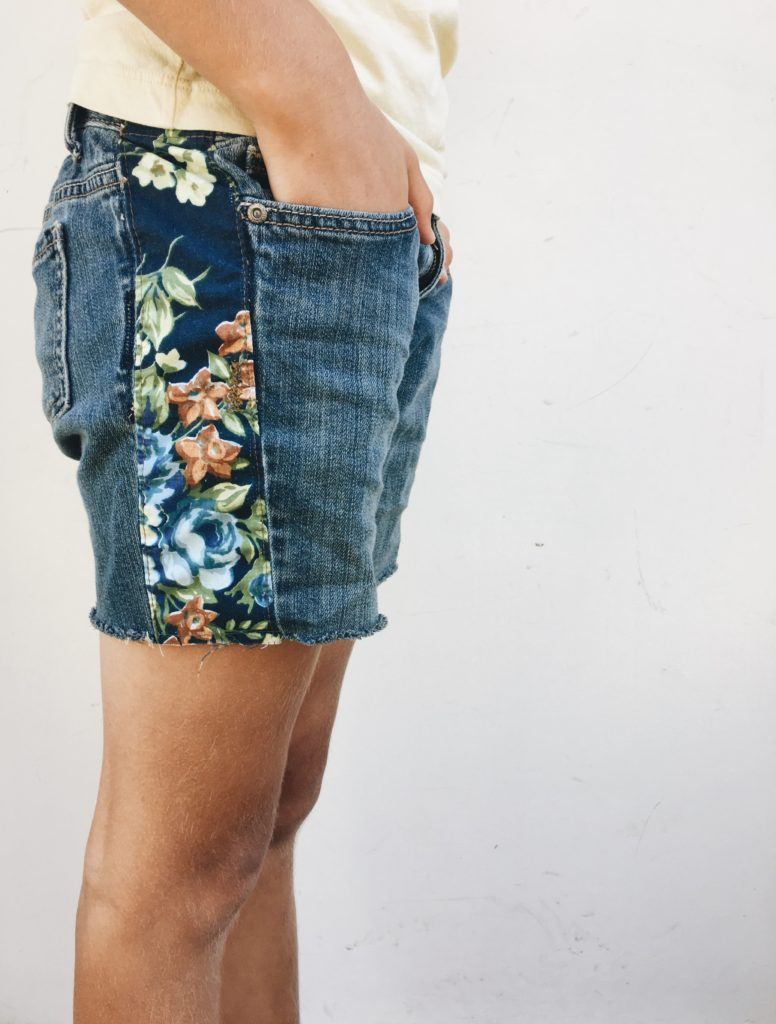 Jean Cutoff Shorts FREE Tutorial
