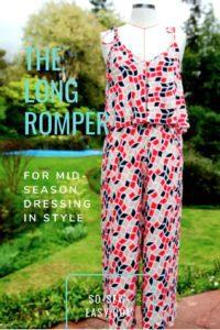 Long Romper FREE Sewing Pattern