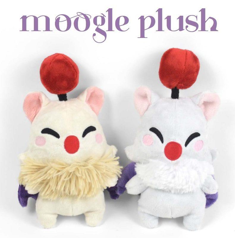 Moogle Plush FREE Sewing Pattern