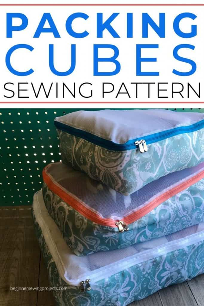 Packing Cubes FREE Sewing Tutorial