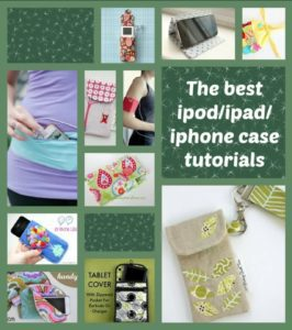 Tech and Tablet Cases FREE Sewing Patterns