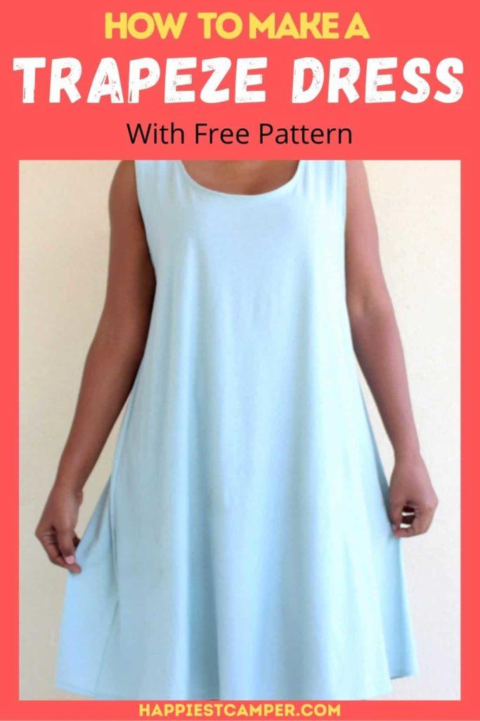 Trapeze Dress FREE Sewing Pattern