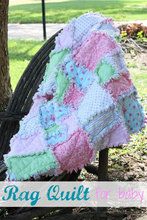 Baby Rag Quilt DIY FREE Sewing Tutorial