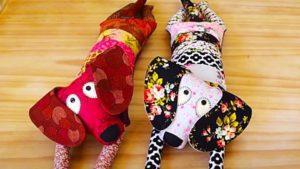 DIY Patchwork Dog FREE Sewing Pattern