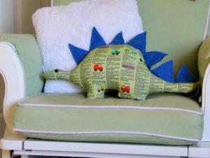 Dinosaur Softie Toy FREE Sewing Pattern