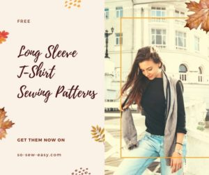 FREE Long Sleeve T-Shirt Sewing Patterns