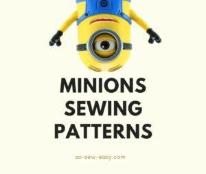 Minions Sewing Patterns