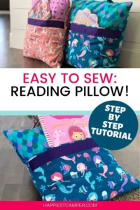 Reading Pillow FREE Sewing Tutorial