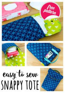 Snappy Tote FREE Sewing Tutorial