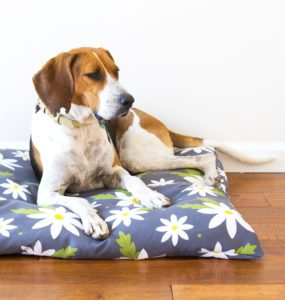 Zippered Dog Bed Cover FREE Sewing Tutorial