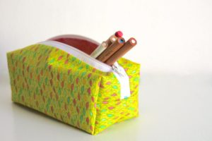 Zippered Pencil Case FREE Sewing Tutorial